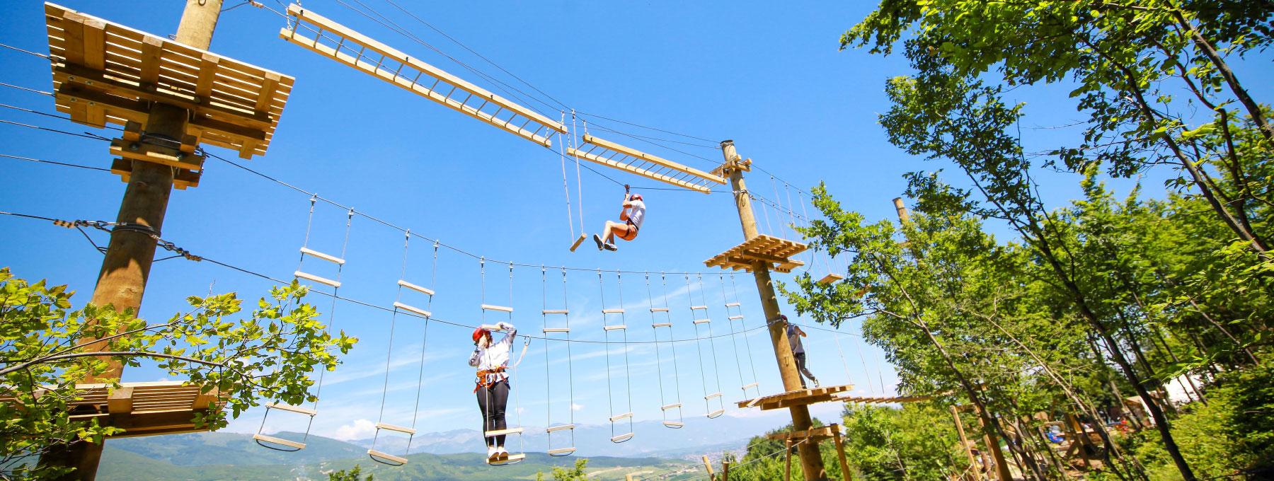 Adventure Park in Pejë/Peć
